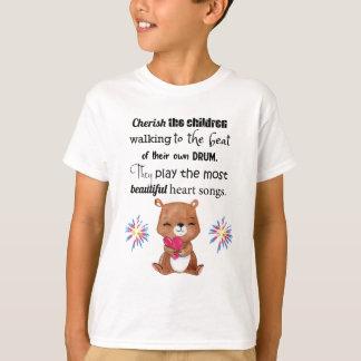 Kinder Inspirerend van speciale Behoeften, de T Shirt