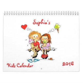 Kinder Kalender 2016 - Grappige Kalender voor Kind