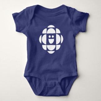 Kinder Logo CBC | Wit Romper