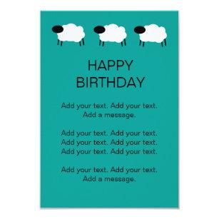 Gelukkige Schapen Verjaardag Cadeaus Zazzle Nl