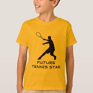 Kinder sportkleding   Oranje tennist-shirt voor T Shirt