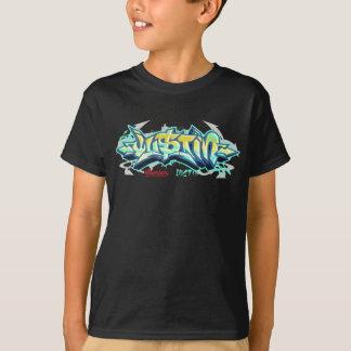 Kinder Streetwear: Justin Graffiti T Shirt