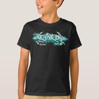 Kinder Streetwear: Kennedy Graffiti T Shirt