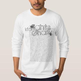 Kinder Strijd Gnarly | Tekst T Shirt