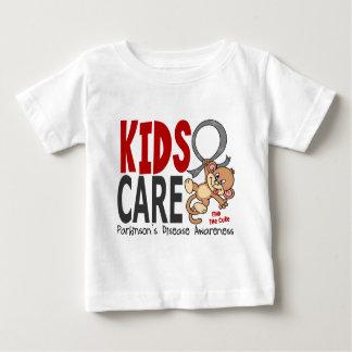 Kinder Zorg 1 Ziekte van Parkinson Baby T Shirts