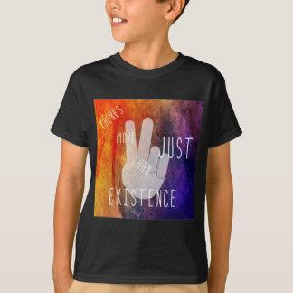 Kinder zwarte t-shirt