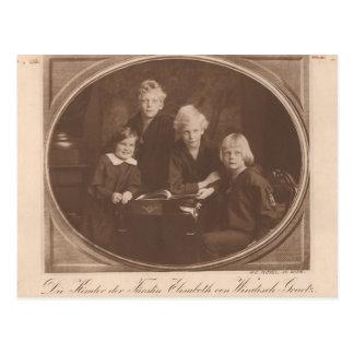 Kinderen Habsburg/windisch-Graetz #019H Briefkaart