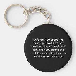 Kinderen: U brengt de eerste 2 jaar van hun… Sleutelhanger