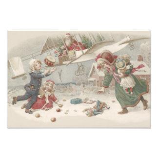 Kinderen van de Kerstboom van het Speelgoed van de Foto Kunst