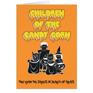 Kinderen van het Graan van het Snoep Wenskaart