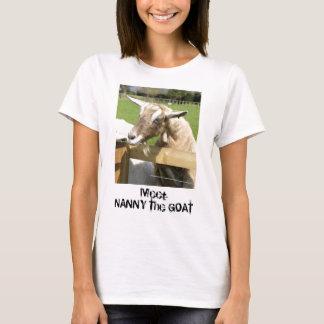 Kindermeisje de T-shirt van de Vrouw van de Geit