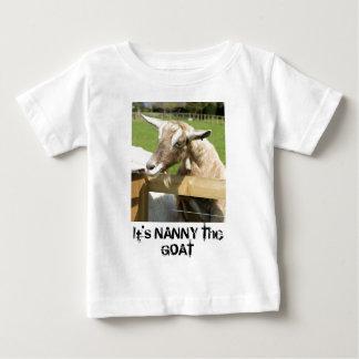 Kindermeisje de T-shirt van de Zuigeling van de