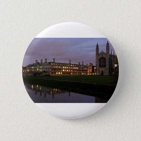 Kings College Cambridge Ronde Button 5,7 Cm