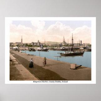 Kingstown - DunLaoghaire Haven, Co. Dublin Poster