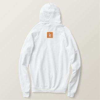 kinops geborduurd hoodie