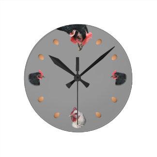 Kip en ei ronde klok