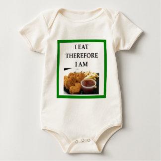 kippen goudklompjes baby shirt