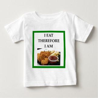 kippen goudklompjes baby t shirts