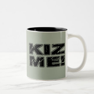 Kiz me Kizomba Tweekleurige Koffiemok