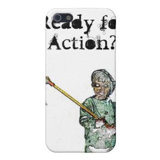 Klaar voor Actie iPhone 5 Covers