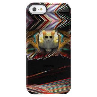 Klaar voor de Koele Kat van de Start Doorzichtig iPhone SE/5/5s Hoesje