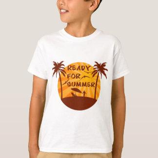 Klaar voor de zomer t shirt