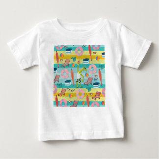 Klaar voor de Zomer van de Eenhoorn Baby T Shirts