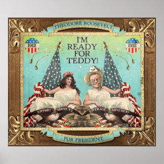 """""""Klaar voor het Poster van de Campagne van Teddy"""""""