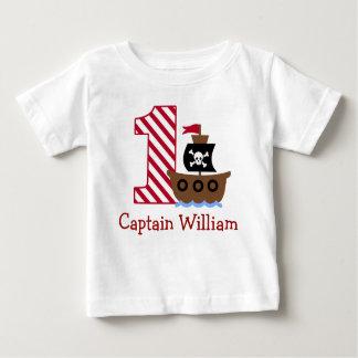 Klantgericht Eerste de verjaardagsoverhemd van de Baby T Shirts