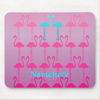 Klantgericht: Flamingo twee Muismat