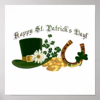 KLANTGERICHT Iers St. Patrick Ontwerp Poster