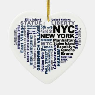 Klantgericht ornament NYC -