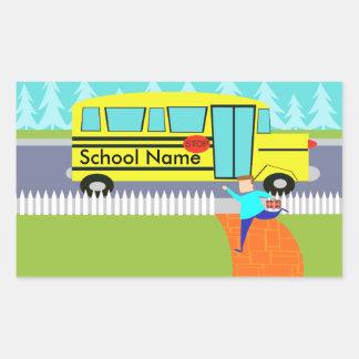 Klantgericht Vangend de Stickers van de Bus van de