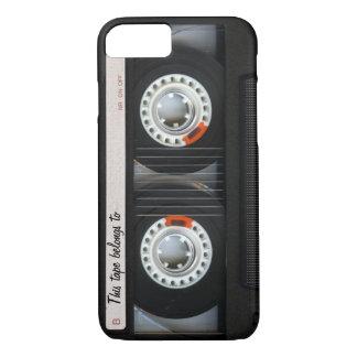 Klantgerichte Band van de Cassette van de Muziek iPhone 8/7 Hoesje