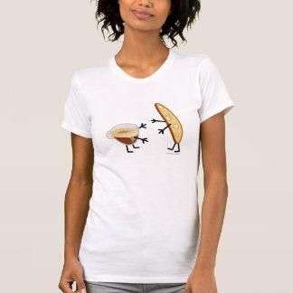 Klantgerichte Biscotti & Koffie - T Shirt