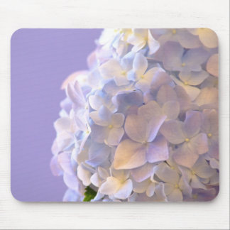 Klantgerichte Blauwe Hydrangea hortensia Mousepad Muismat