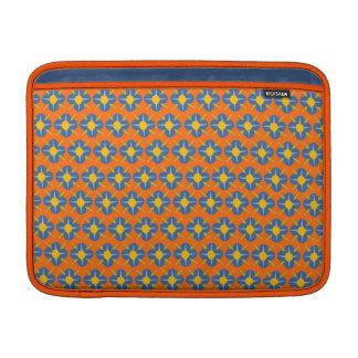 Klantgerichte BloemenMedaillons MacBook Air Sleeve