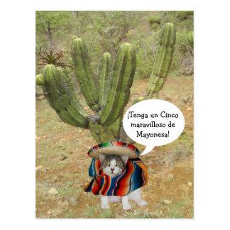 Klantgerichte Cinco DE Mayo Briefkaart