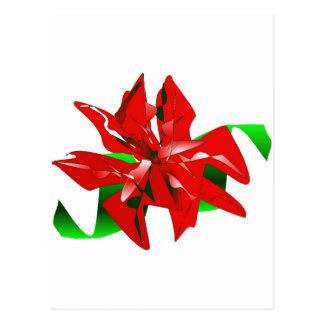 Klantgerichte de Bloem van Kerstmis Briefkaart