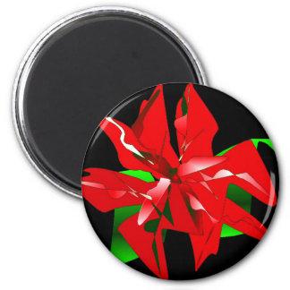Klantgerichte de Bloem van Kerstmis Koelkast Magneetjes