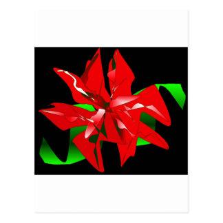 Klantgerichte de Bloem van Kerstmis Wens Kaart