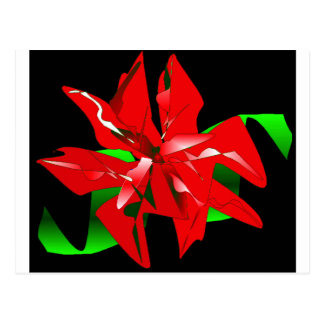 Klantgerichte de Bloem van Kerstmis Wens Kaarten