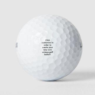 Klantgerichte Golfballen