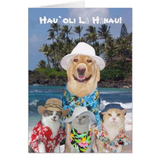 Klantgerichte Hawaiiaanse Gele Laboratorium & Kaart