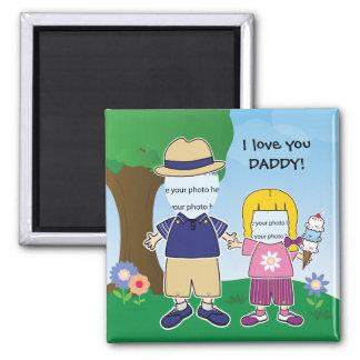 Klantgerichte I houdt van u Papa Magneet