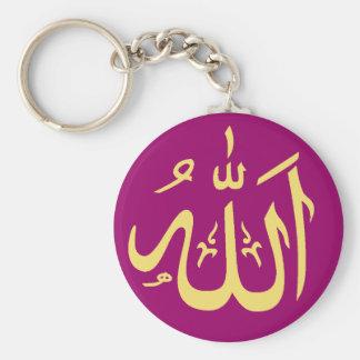 Klantgerichte Islamitisch van Allah Sleutelhanger