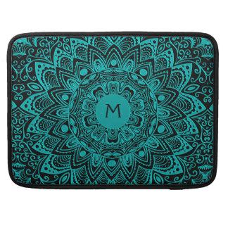 Klantgerichte Kleur van het Monogram Mandala van Beschermhoes Voor MacBook Pro