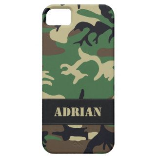 Klantgerichte Militaire Camo Barely There iPhone 5 Hoesje