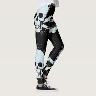 klantgerichte schedelbeenkappen leggings