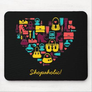 Klantgerichte Shopaholic (hart) Muismat